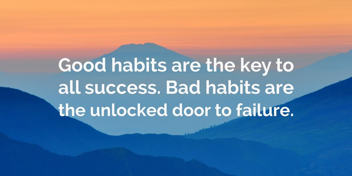 Quote on habits