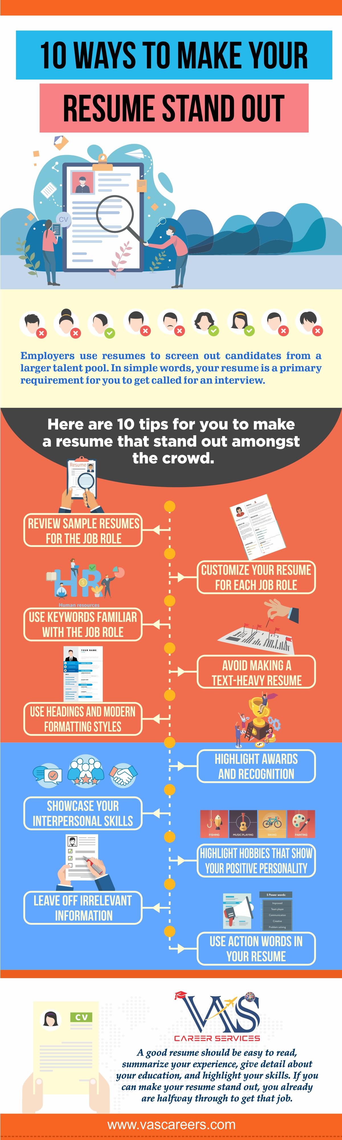 Make your resume stand-out